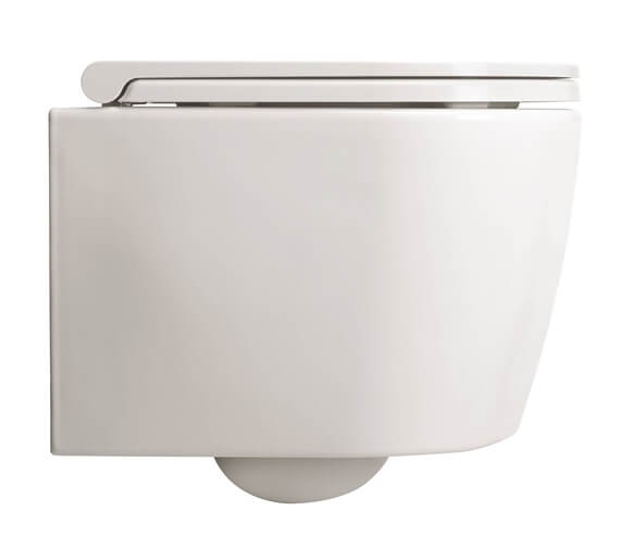 Crosswater Pier Wall Hung Rimless WC And Soft Close Seat
