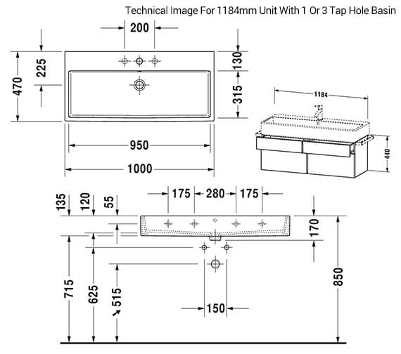 Technical drawing QS-V33520 / VA650401818