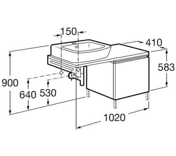 Technical drawing QS-V100041 / 855732035