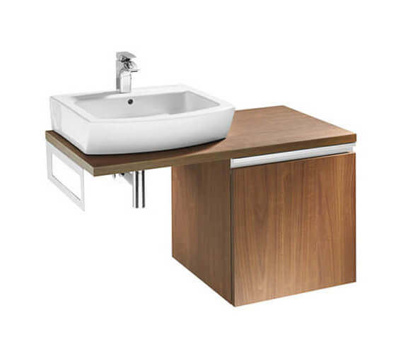 Roca H And H Modern Vanity Unit of 1020mm With Towel Rail And 1 Drawer