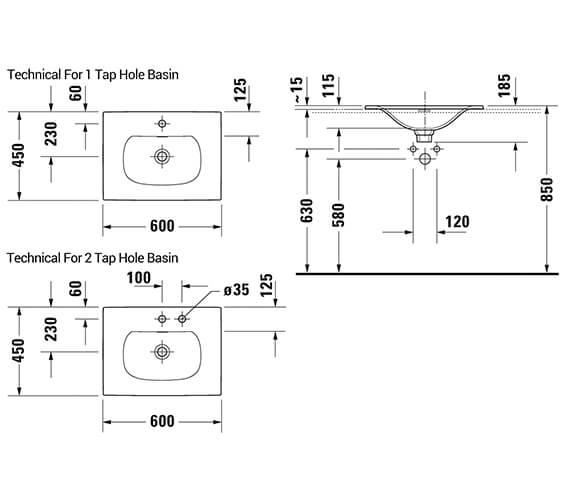 Technical drawing QS-V42531 / 0385600060