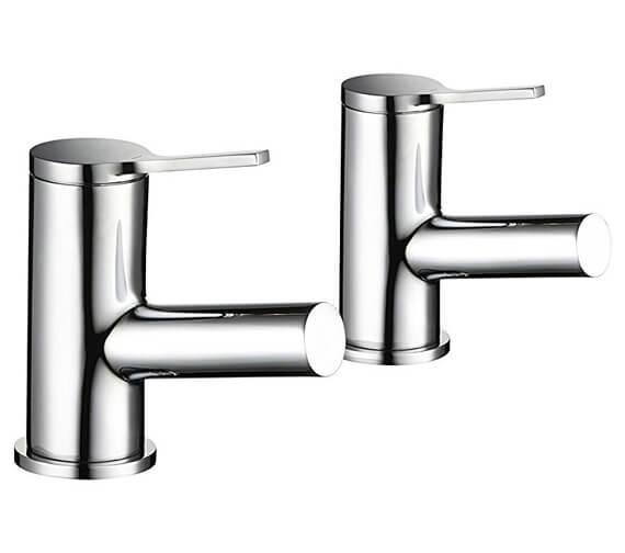Mira Evolve Pair Of Bath Pillar Taps