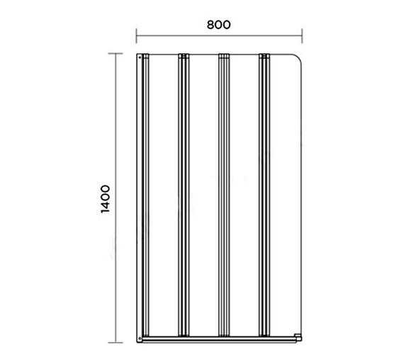 Technical drawing QS-V100656 / AP9357LS