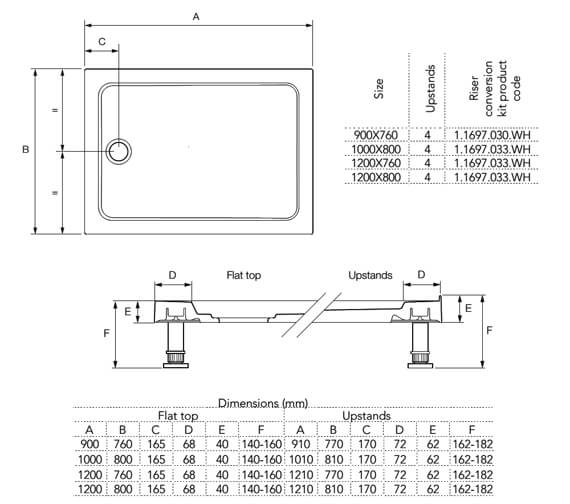 Technical drawing QS-V81016 / 1.1697.351.AS