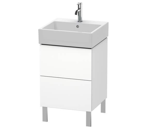 Duravit L-Cube Floor Standing 2 Drawer Vanity Unit For Vero Air Basin