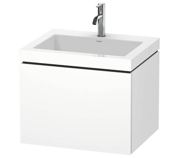 Duravit L-Cube 1 Drawer Vanity Unit With C-Bonded Basin