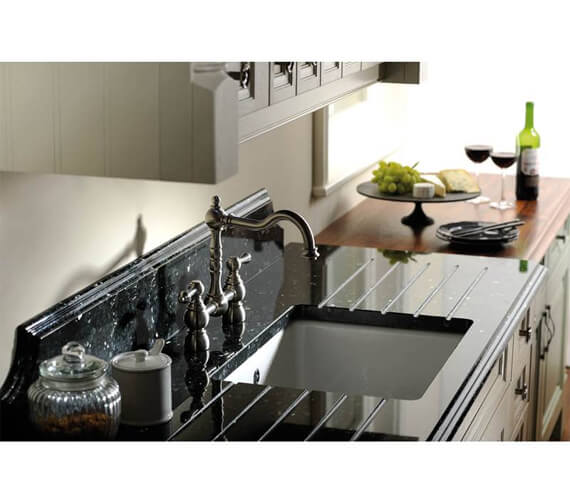 Additional image of Abode Bayenne Bridge Kitchen Mixer Tap