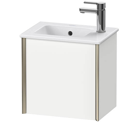 Duravit XViu 1 Door 410mm Wall-mounted Vanity Unit With ME By Starck Basin