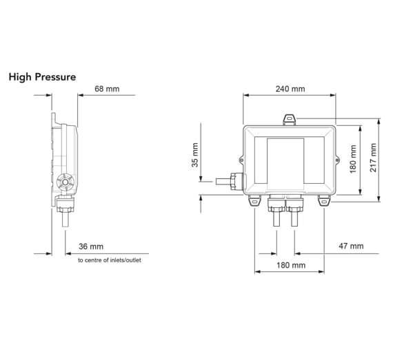 Alternate image of Mira Mode Thermostatic Digital Mixer Shower