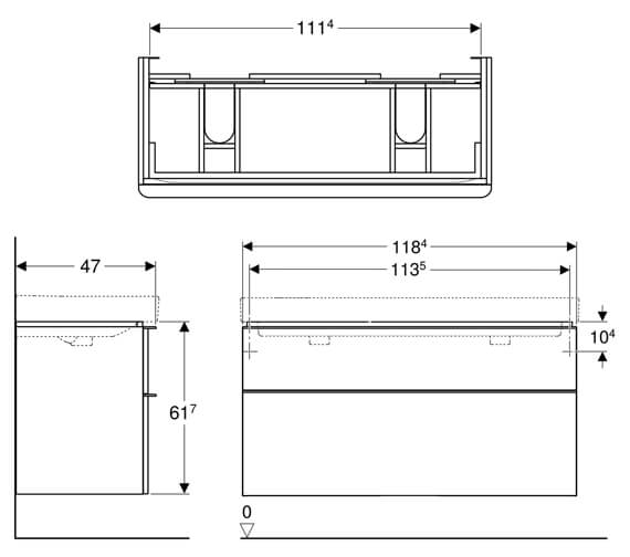 Technical drawing QS-V93833 / 500.356.00.1