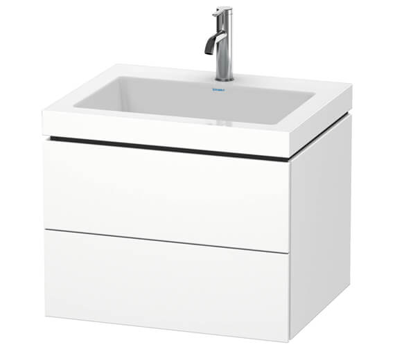 Duravit L-Cube 2 Drawer Vanity Unit With C-Bonded Basin