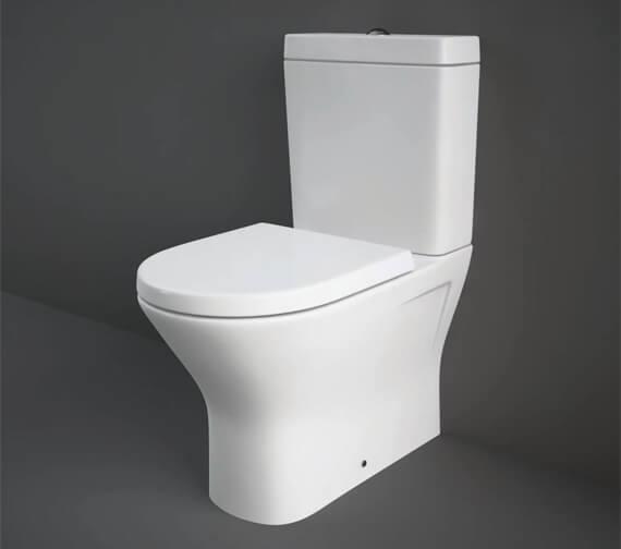 RAK Resort Mini Close Coupled Back To Wall Rimless WC Pack