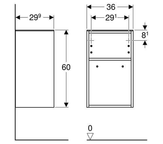 Technical drawing QS-V93834 / 500.358.00.1