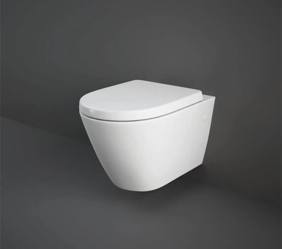Rak Resort Wall Hung WC Pan With Soft Close Seat