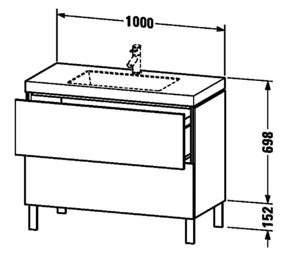 Technical drawing QS-V80813 / LC6936O1818