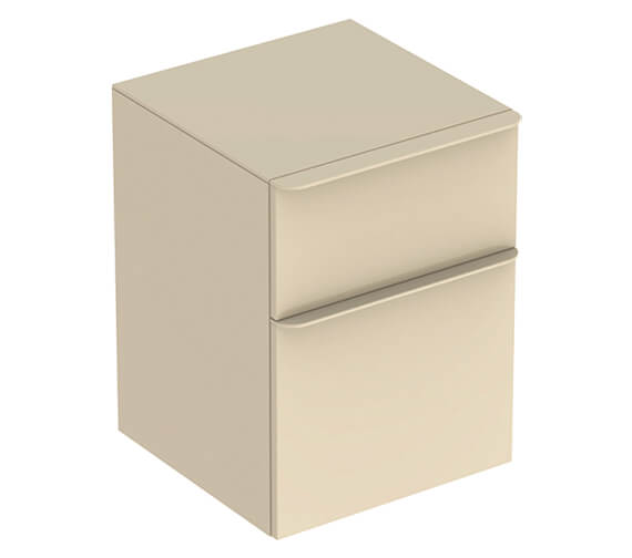 Additional image of Geberit Smyle Square 450 x 470mm Two Drawers Low Cabinet