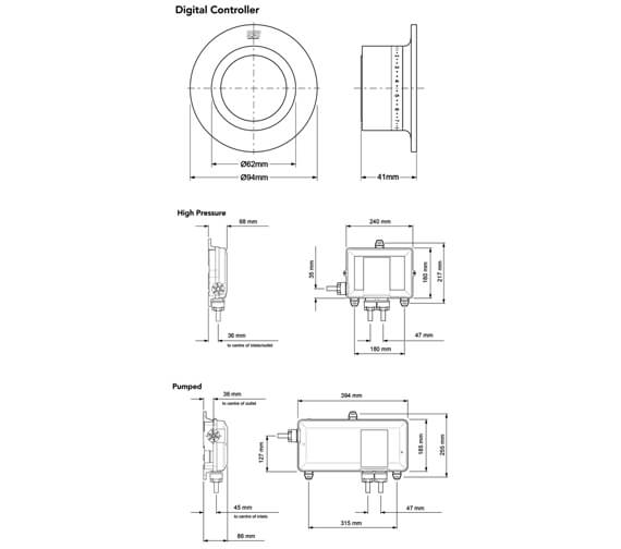 Technical drawing QS-V90977 / 1.1874.017