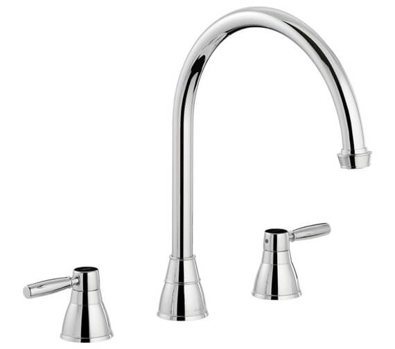 Abode Brompton 3 Hole Kitchen Mixer Tap