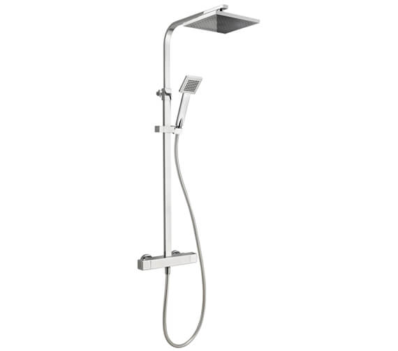 Deva Savvi Cool Touch Thermostatic Bar Shower With Diverter To Head And Handset