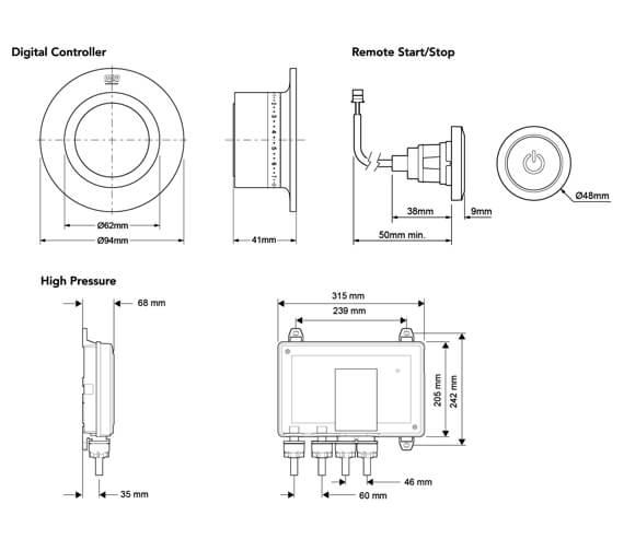 Technical drawing QS-V90976 / 1.1874.015