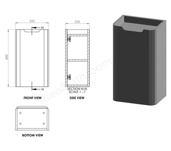 Alternate image of Essential Colorado Small Midi Boy Furniture Unit