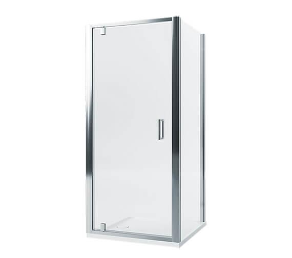 Mira Leap 6mm Glass Frameless Pivot Shower Door