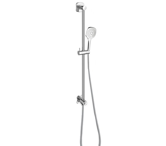 Flova Fusion Slide Rail Shower Kit With GoClick On Or Off Control