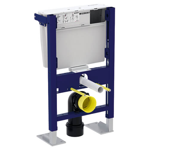 Geberit Duofix Wall Hung WC Frame 790mm With Low Height Furniture Cistern