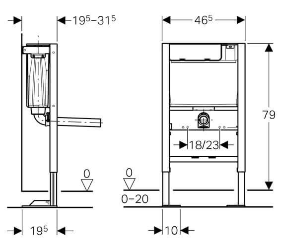 Technical drawing QS-V93844 / 111.207.00.2