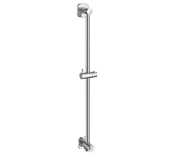 Flova Fusion Slide Rail With Integral Wall Outlet And GoClick On Or Off Control