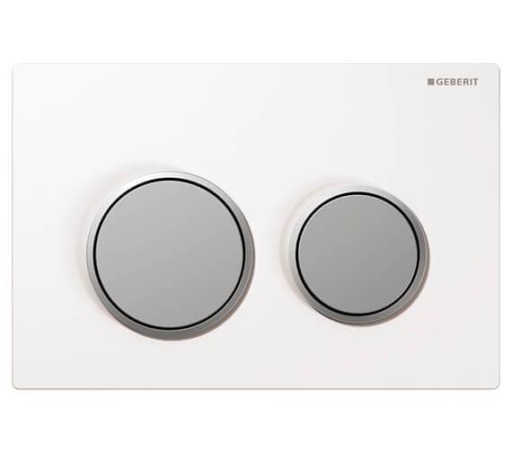 Additional image of Geberit Kappa21 Plastic 212 x 142mm Dual Flush Plate