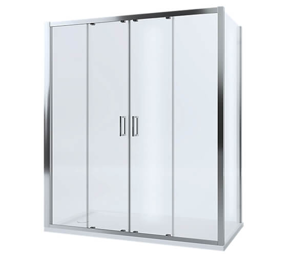 Mira Leap 6mm Glass Double Slider Door And Panels