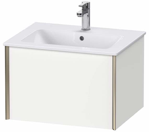 Duravit XViu 1 Pull-out Compartment Wall-mounted Vanity Unit For ME By Starck Basin