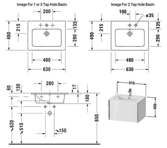 Technical drawing QS-V42536 / XV40250B118