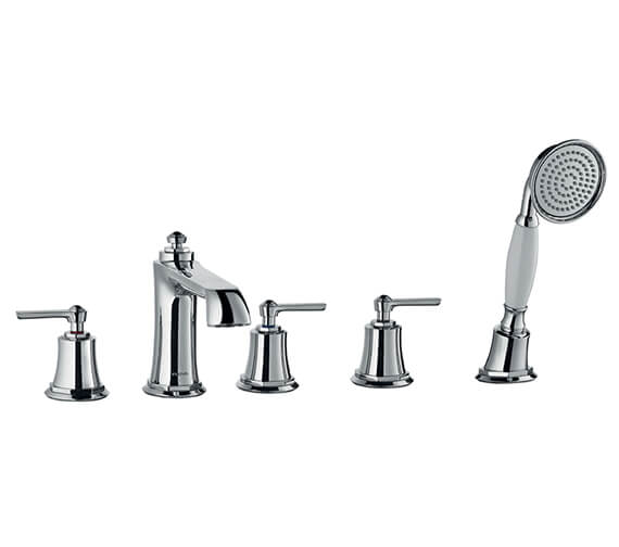 Flova Liberty 5 Holes Bath Shower Mixer Tap