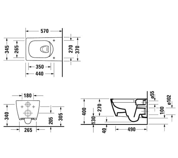 Technical drawing QS-V96216 / 2511090000