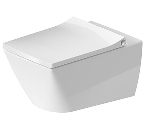 Duravit Viu 370 x 570mm Wall Mounted Rimless WC Pan