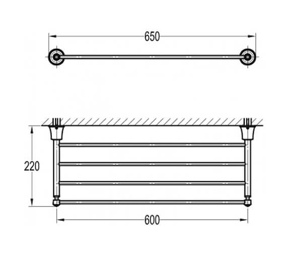 Technical drawing QS-V89464 / LI8983