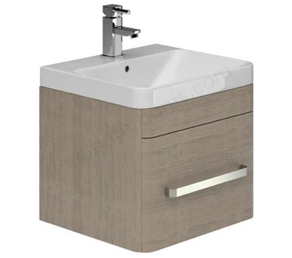 Alternate image of Essential Vermont 500mm Wall Hung Vanity Unit And Basin