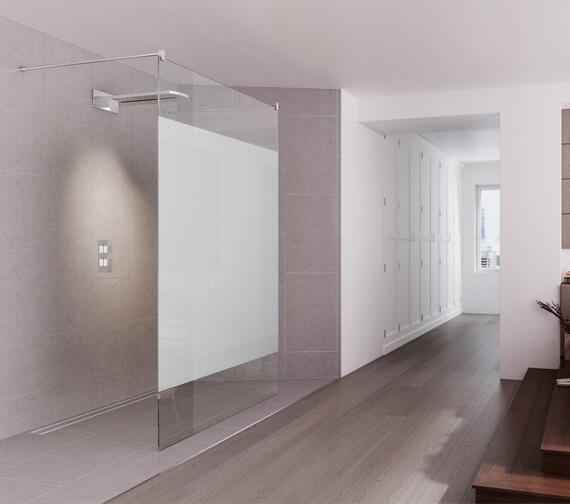 Aqata Design Double Entry Walk-In Shower Screen - DS440-1000