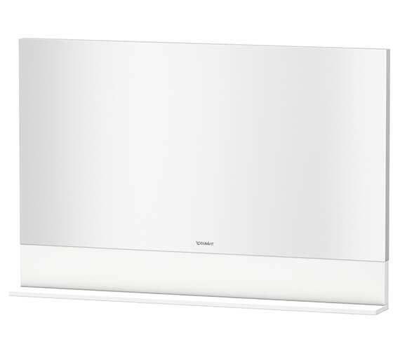Duravit Vero 400 x 800mm White Matt Mirror With Shelf