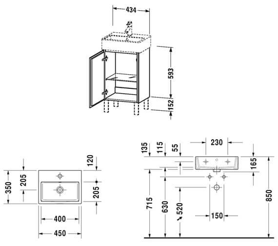 Technical drawing QS-V80782 / LC6750L1818