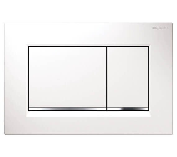 Geberit Sigma30 246 x 164mm Dual Flush Plate