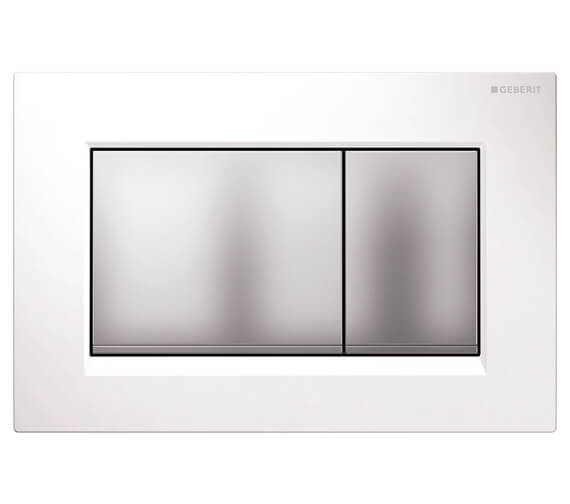 Additional image of Geberit Sigma30 246 x 164mm Dual Flush Plate