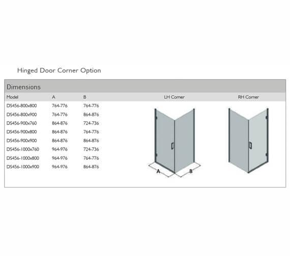 Technical drawing QS-V100124 / DS456-8x8LHC