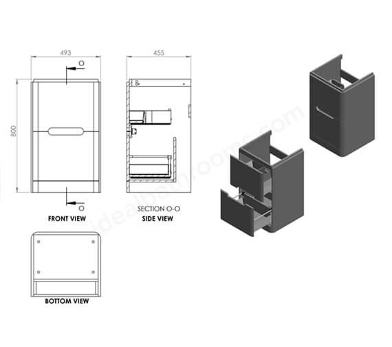 Technical drawing QS-V99750 / EFP701GG