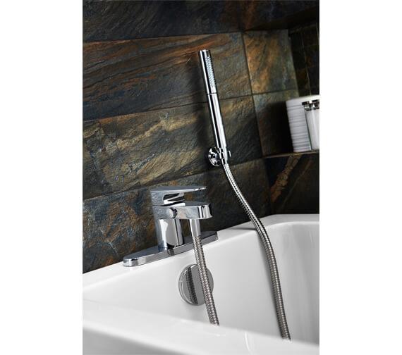 Mira Precision Deck Mounted Bath Shower Mixer Tap