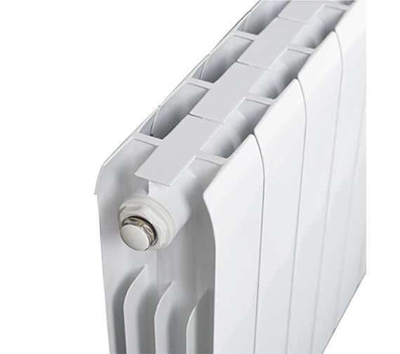 Alternate image of Biasi Alessia Horizontal 430mm High Aluminium Radiators