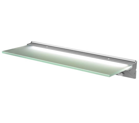 Sensio Florence IP44 LED Glass Shelf Light