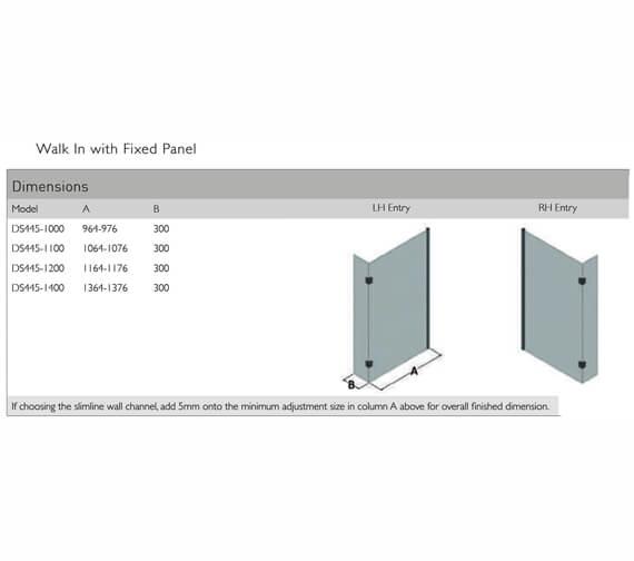 Technical drawing QS-V100122 / DS445-1000LHE
